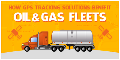 How GPS Tracking Solutions Benefit Oil & Gas Fleets