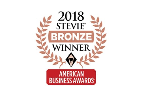 Bronze Stevie for Customer Service